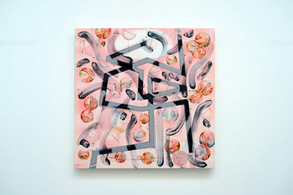 ミケランジェロの井戸 Well Michelangelo oil on canvas 2016 / F40  町田哲也